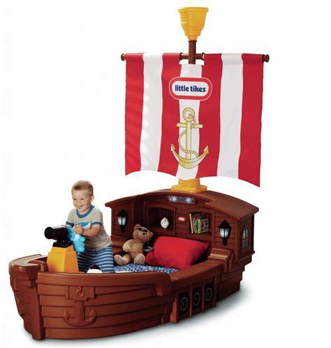 Tikes Pirate Tikes Pirate Ship Toddler Bed Kidsdimension