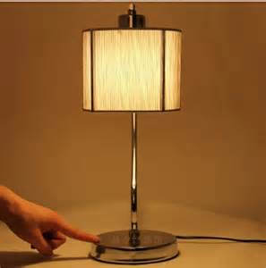 popular bedroom touch lamps from china best selling 40cm vintage style table touch bedside lamp desktop