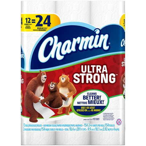charmin ultra strong toilet paper 12 rolls