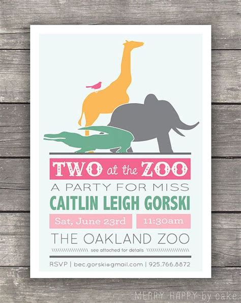 printable zoo animal invitations zoo animal party invitation printable birthdays animal