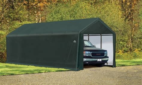 12 wx30 lx11 h square max strength portable garage