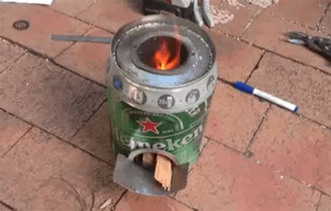 Cover Fireplace beer keg rocket stove instructions survival life