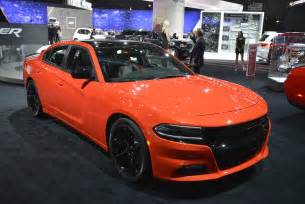 Orange Dodge Charger Go Mango Paint Is Now On Regular 2016 Dodge Charger And