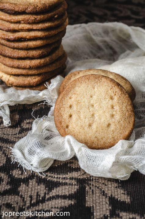 eggless butter cumin seeds biscuits easy butter