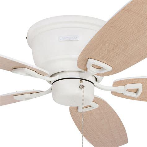 ceiling fan outlet store honeywell glen alden ceiling fan white finish 52 inch