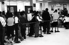 Dmv Springfield Gardens by Lines Await Customers At Springfield Gardens Dmv
