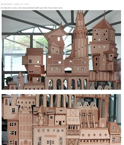 cardboard houses cardboard house buildings palace paper house ideas pinterest cardboard houses