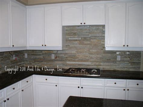 stacked stone kitchen backsplash 31 best images about home kitchen ideas on pinterest