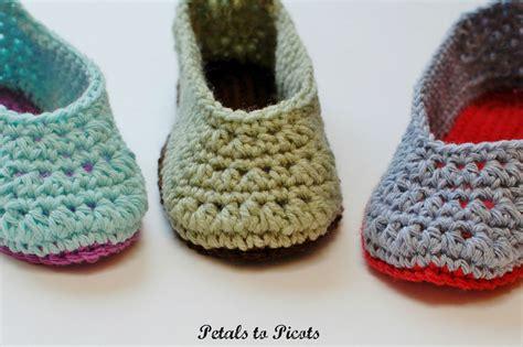crochet pattern womens slippers crochet pattern ladies slippers women s sizes 4 5 6 7