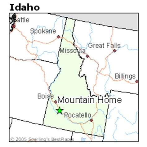 best places to live in mountain home idaho