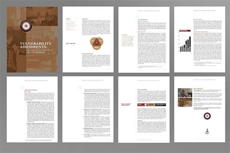 graphic layout diagram for 6 spreads notice full bleed best design corporate white papers google search