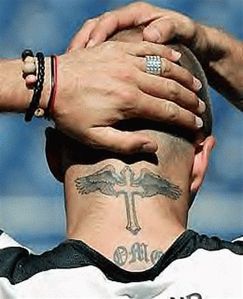 david beckham back tattoo david beckham back back neck tattoos