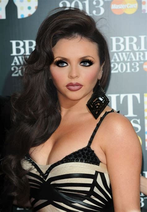 how to blend a lads a hair jesy nelson little mix side parting dark brown curly