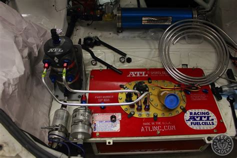 Fuel Cell Plumbing by Project Rotary Mule Keeping Fuel Where It Belongs