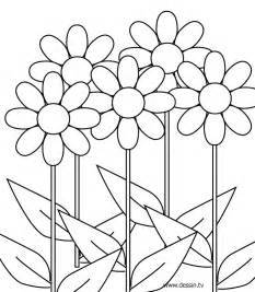 coloring pictures of flowers flower color pages