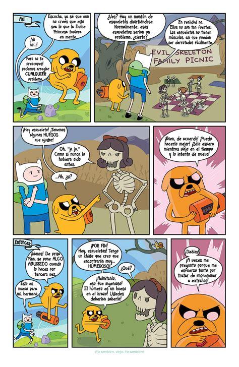imagenes sorprendentes comicas comic hora de aventura 6 im 225 genes taringa