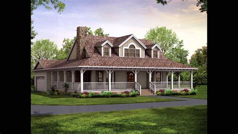 wrap around porch cost wrap around porch house plans youtube