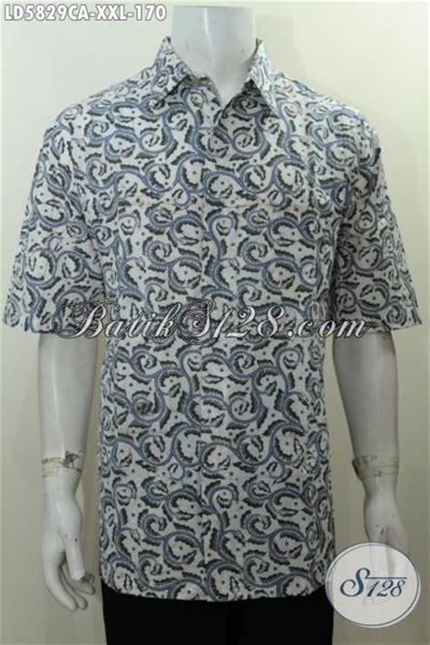Gamis Batik Cap Jumbo baju batik jumbo untuk pria gemuk kemeja batik lengan