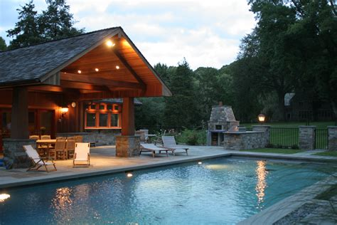 House With Pools evening swimming pool behind house outdoor with 4 chair