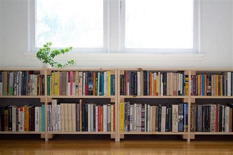 several concept of window bookcase at your bedroom
