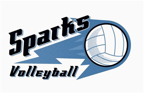design logo volleyball scott derby illustration july 2014