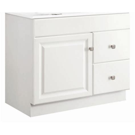 design house wyndham vanity design house wyndham 36 single door bathroom vanity base