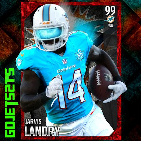 madden elite card template jarvis landry avi auction graphics topic madden
