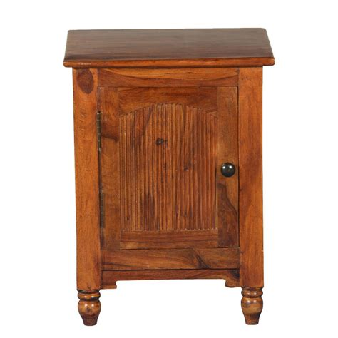 Rustic Wood Nightstand by Rustic Empire Solid Wood Nightstand End Table Cabinet