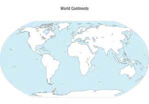 World Continents Map by Pics Photos Continents Map
