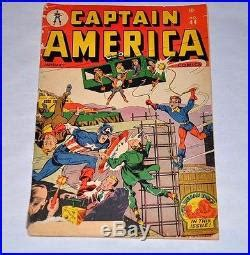 timely confidential when the golden age of comic books was books captain america comics 44 timely golden age human torch