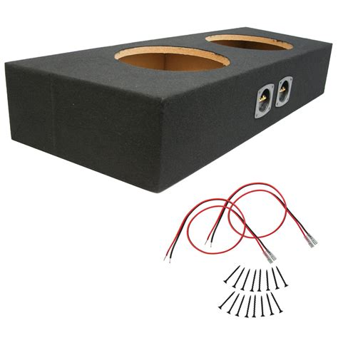 Subwoofer Enclosure Carpet by Ford Mustang 94 12 Convertible Dual 10 Quot Subwoofer Box Mdf
