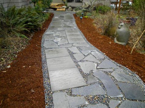 slate patio walkways flagstone contractor flagstone steps pathways brick pressed concrete