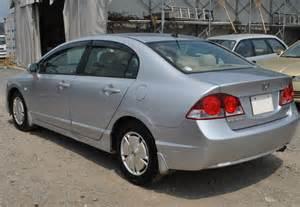 used honda civic hybrid sedans 2008 model in silver used