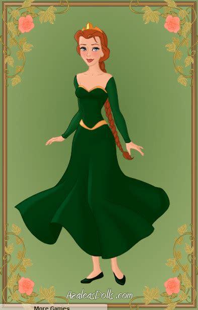 Gamis Fiona princess fiona by zozelini on deviantart