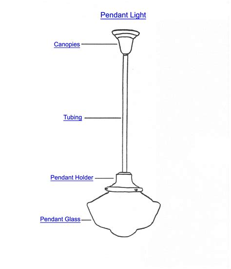 Pendant Light Components Pendant Lighting Part Index