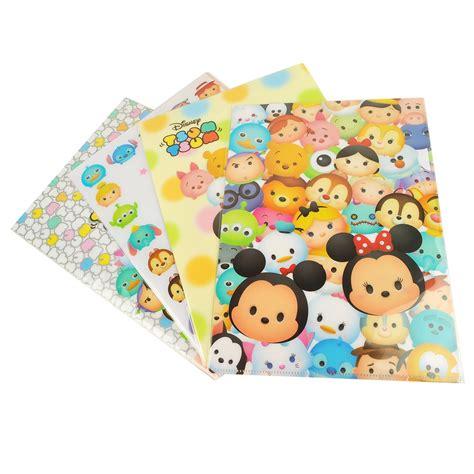 Paper Klip Hello Fb 4pcs Tsum Tsum Sticky Memo Pad Ballpoint Pen Propelling