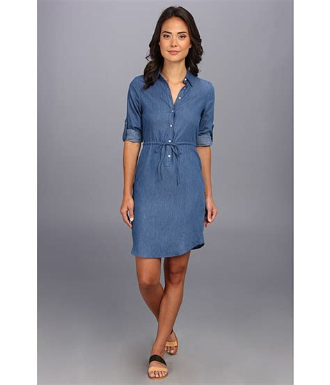 Ck Seven Zip Up search calvin klein chambray shirt dress denim