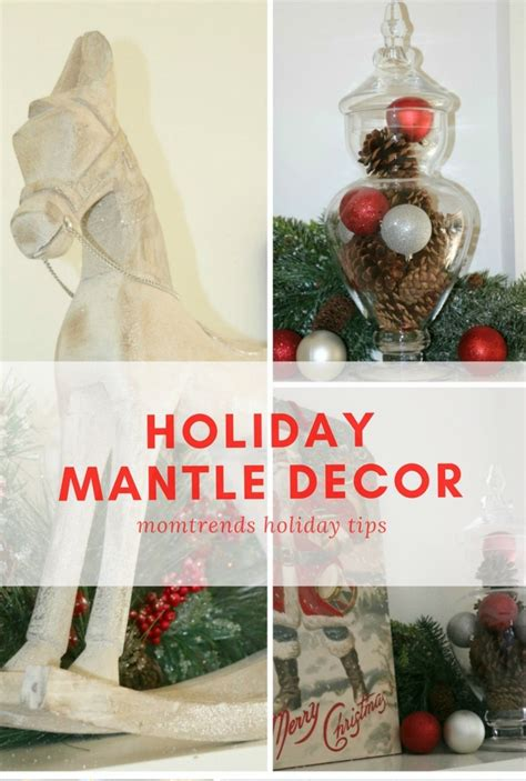 festive christmas mantel decorating idea in my own style holiday mantle decor momtrends