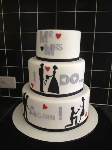 My girlfriends vow renewal cake   Ideas for Renewing Vows