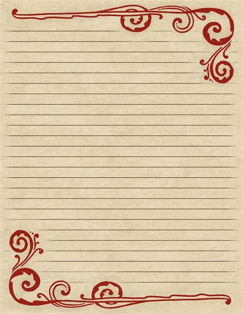 lined paper with pretty border lilac lavender november 2013