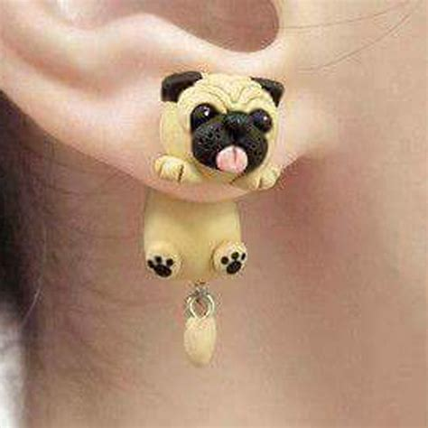 style pug buy wholesale polymer clay earrings from china polymer clay earrings