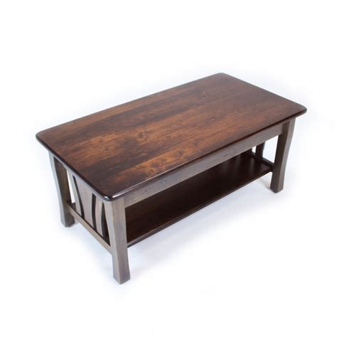 metro coffee table solid maple coffee table