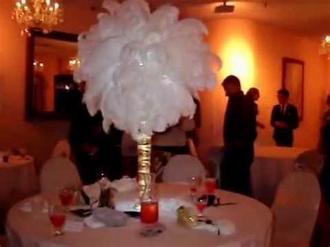 Vase Rental Masquerade Themed Sweet 16 Centerpieces In Gold Amp White By