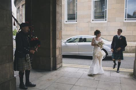 edinburgh wedding packed with diy details and vintage
