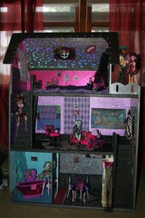 monster high doll house ebay monster high custom ooak house man cave holt duece gil