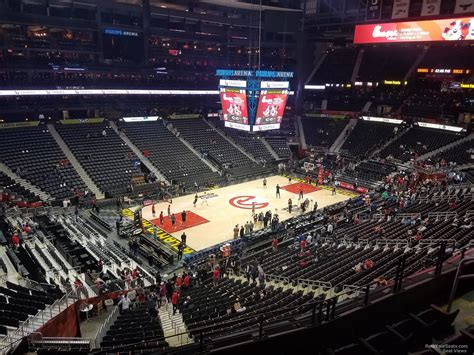 Section 314 A by Philips Arena Section 314 Atlanta Hawks Rateyourseats