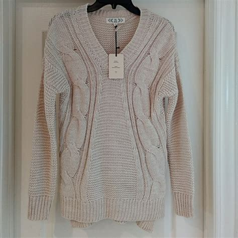 oatmeal colored sweater 68 pink sweaters oatmeal colored nubby v neck