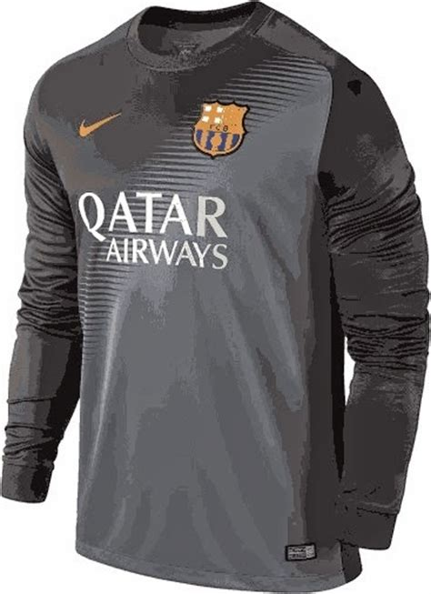 Baju Bola Qatar jual jersey goalkeeper barcelona home terbaru musim 2024 2015 enkosa sport