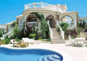 Spanish Villa Style Homes by Spanish House Beautiful If I Were Rich Pinterest