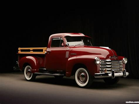 imagenes de pickup chevrolet fotos de chevrolet 3100 pickup 1951 foto 4